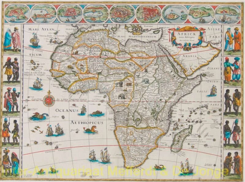 Africa – Willem and Joan Bleau, c. 1640