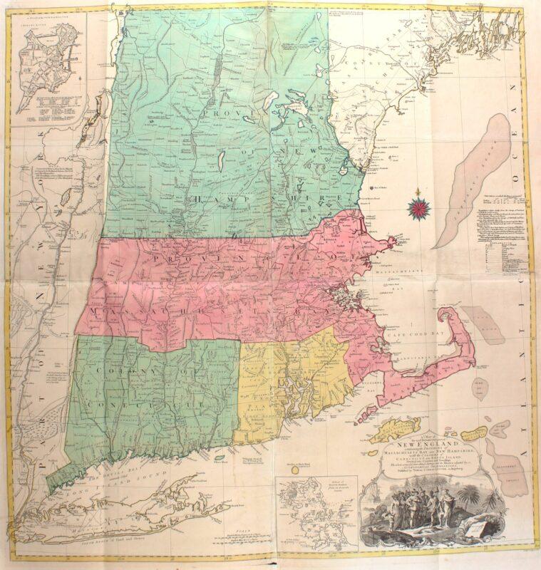 America, New England – Tobias Lotter, 1776