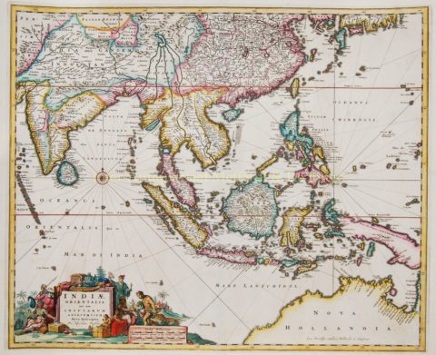 South East Asia – Nicolaes Visscher, c. 1690
