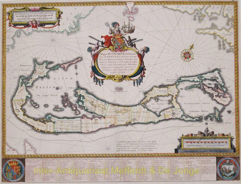 Bermuda map – Blaeu