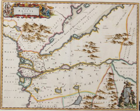 Egypt and the Gulf – Olfert Dapper, c. 1670