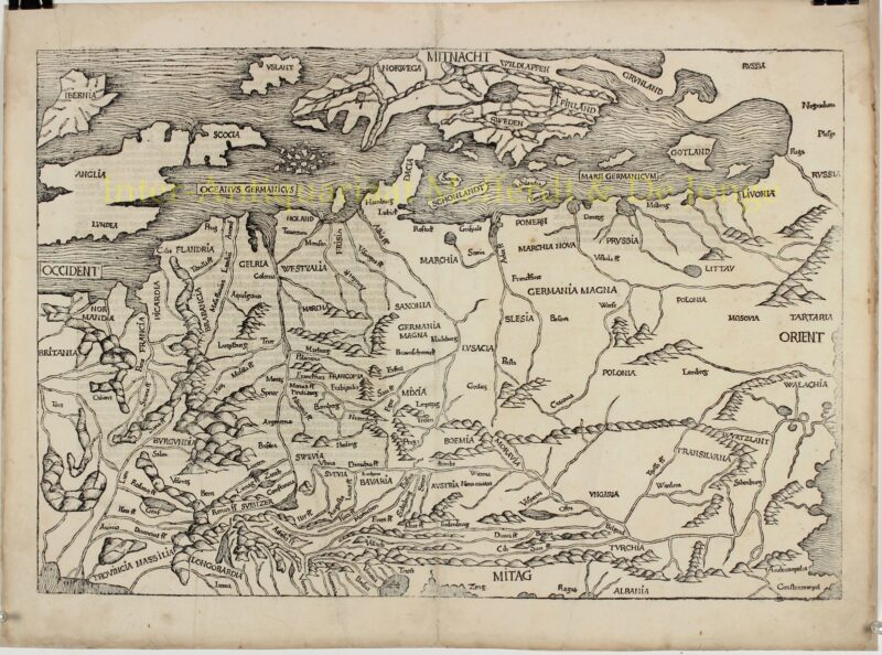 Northern and Central Europe – Hartmann Schedel, 1493