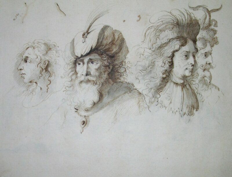 Sketchbook – Albert Flamen, 1679