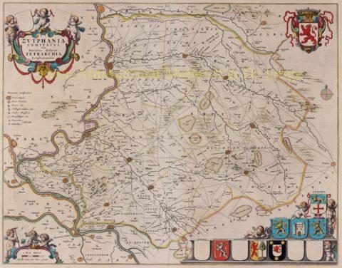 Graafschap Zutphen – Joan Blaeu, 1658-1672