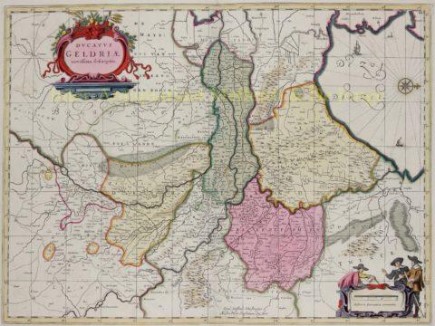 Hertogdom Gelderland – Janssonius van Waesbergen, ca. 1670