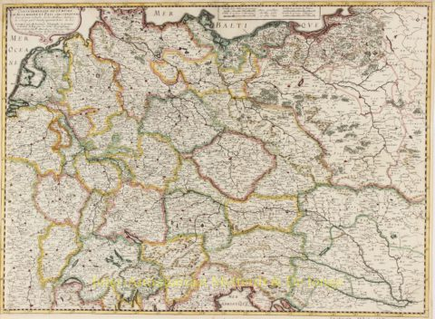 Germany, Low Countries, Poland, Baltics – Melchior Tavernier, 1645