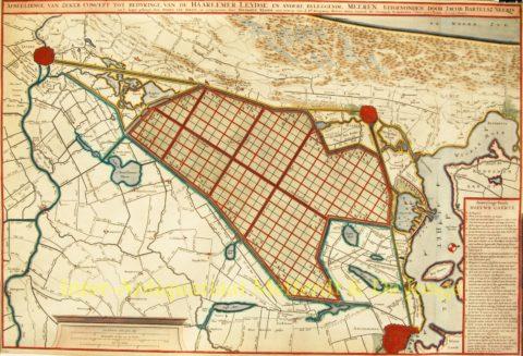 Haarlemmermeer, plan inpoldering – Jacob Bartelsz Veeris
