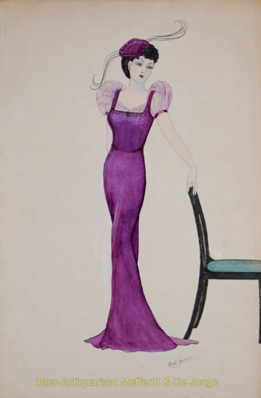 """Jet Trim"" – Ruth Muller, 1930s"