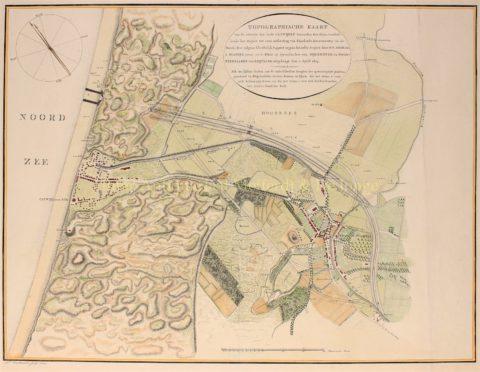 Katwijkse uitwatering – Daniel Veelwaard, 1803