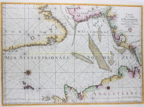 Noordzee – Jacques-Nicolas Bellin, ca. 1770