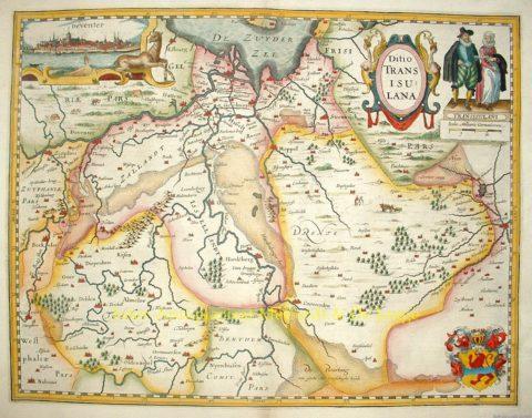 Overijssel – Petrus Kaerius, 1617