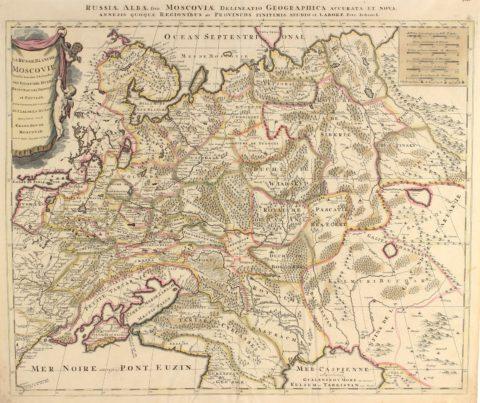 Russia – Pieter Schenk, c. 1700