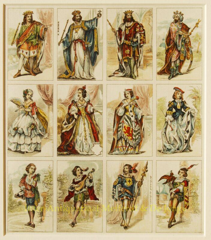 Antieke speelkaarten – Ferdinand Piatnik