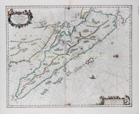 Sumatra – Johannes Janssonius, 1657