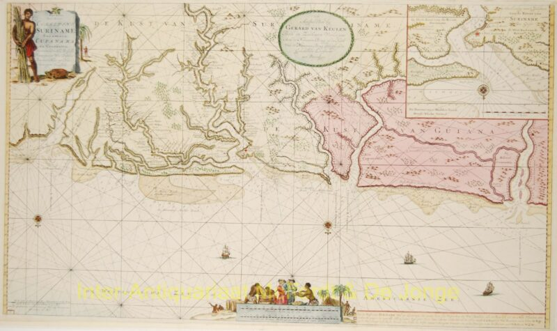 Suriname – Gerard van Keulen, c. 1728