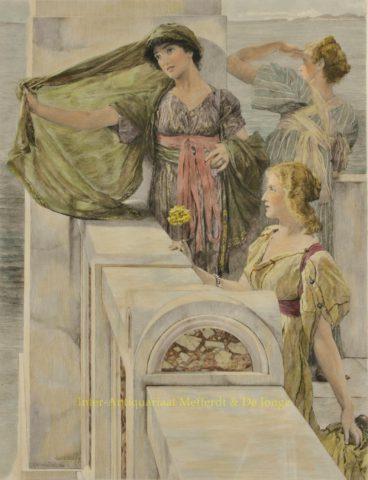 THE EVER NEW HORIZON – Alma-Tadema, 1904