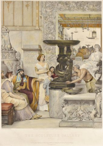 The Sculpture Gallery – Sir Lawrence (Lourens) Alma-Tadema