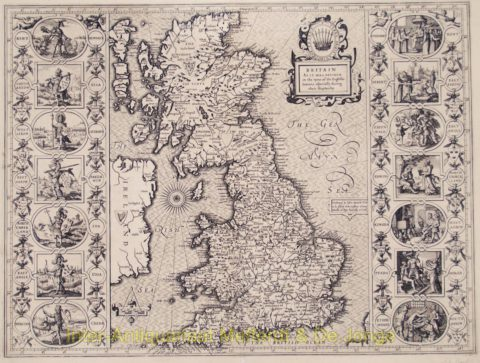 Great Britain map – Speed
