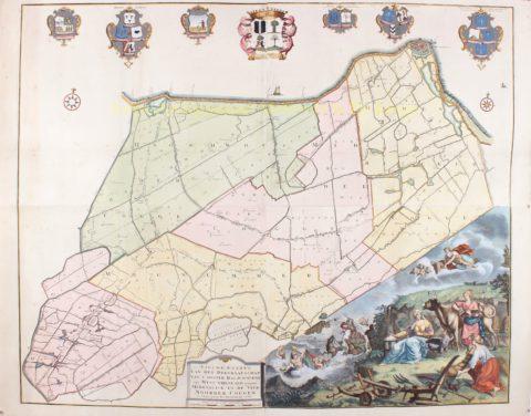 West-Friesland, Medemblik en de Vier Noorder Koggen – Hendrik de Leth, 1732