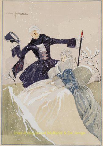 Gaston Maréchaux – winter scenes