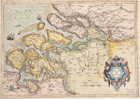 Zeeland – Gerard Mercator, 1585