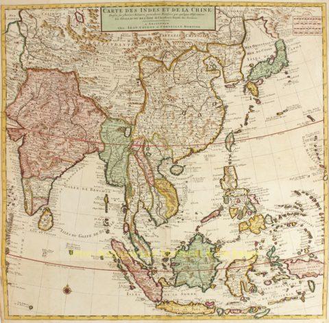 Zuidoost-Azië – Covens en Mortier, ca. 1730