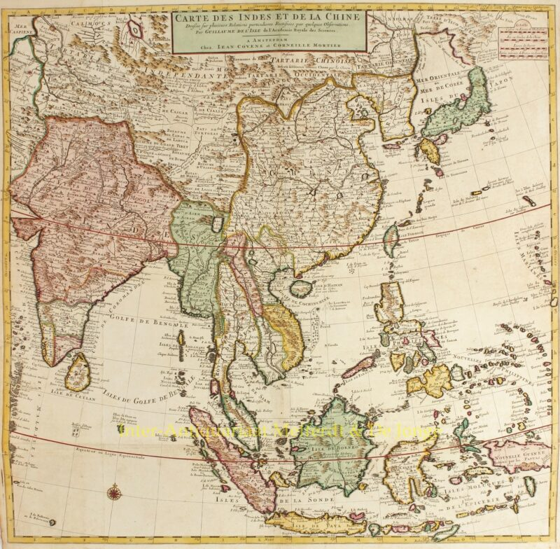 Southeast Asia – Covens and Mortier, c. 1730