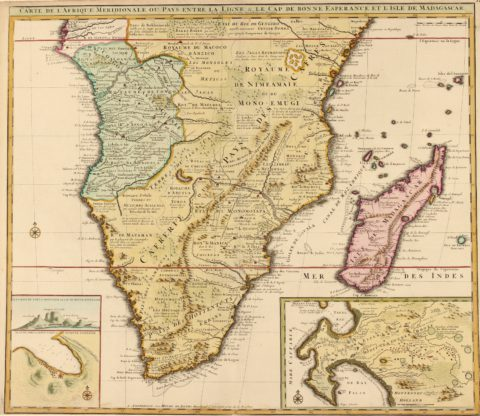 Southern Africa, Cape of Good Hope – Visscher/De Leth, c. 1740