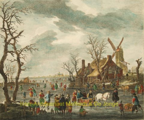 ijsgezicht – Dutch winter scene