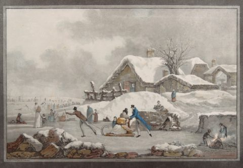 Winter – Philibert-Louis Debucourt, c. 1800