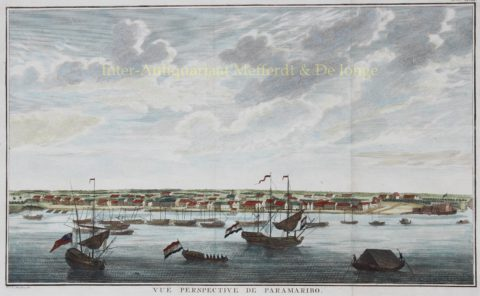Waterkant Paramaribo – Noach van der Meer, 1757