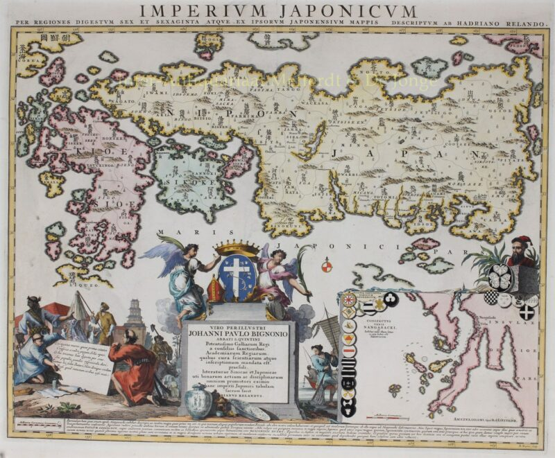 Empire of Japan – Reinier and Josua Ottens, after 1720