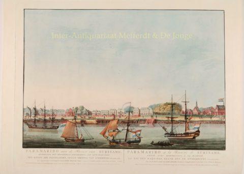 Paramaribo, Waterkant, Fort Zeelandia – Pierre Beranger, 1817