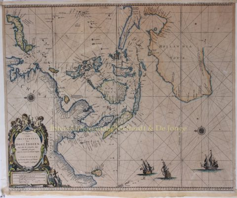 East-India with Australia – Pieter Goos, 1666
