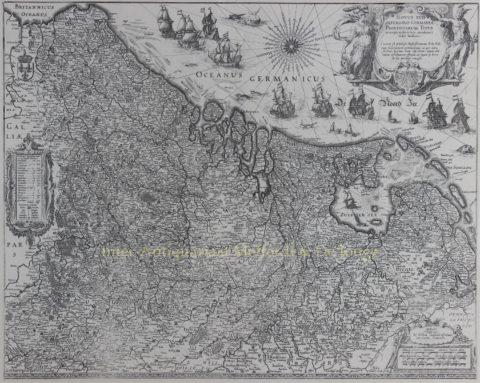Seventeen Provinces – Willem Blaeu, 1630
