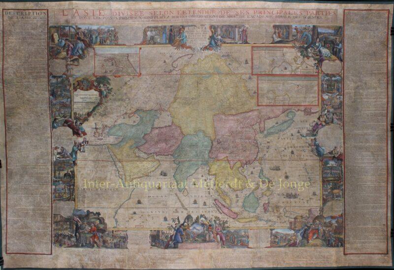 Asia – Hendrik van Loon after Nicolas de Fer, 1724