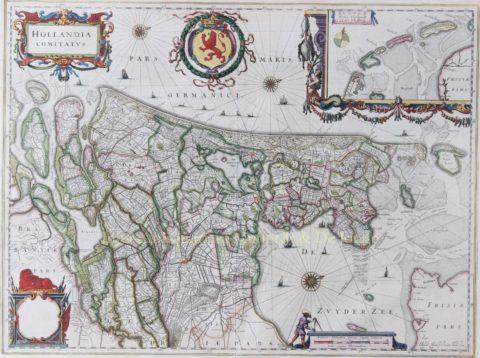 Holland – Joan Blaeu, na 1643