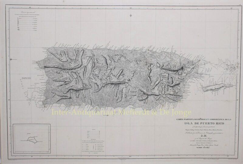 Puerto Rico – Miguel Moreno, 1842