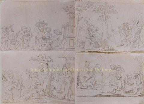 Four seasons – Jacob de Wit (1695 – 1754)