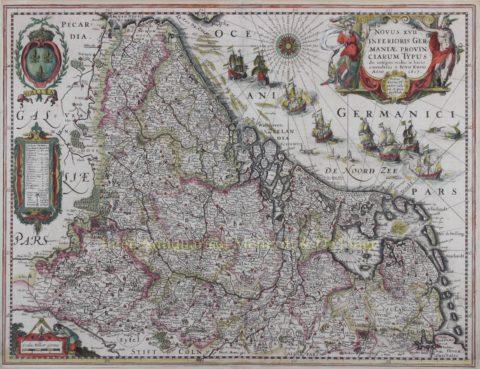Seventeen Provinces – Petrus Kaerius, 1617-1622
