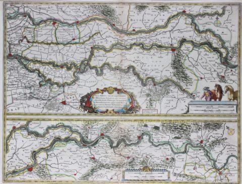Gelderland, land van Rijn, Maas en Waal – Joan Blaeu, 1664