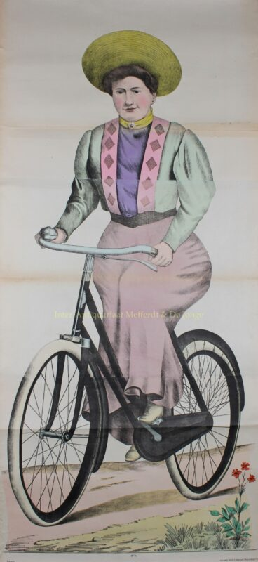 The cyclist – Ackermann/Burckhardt (Weissenburg), 1906