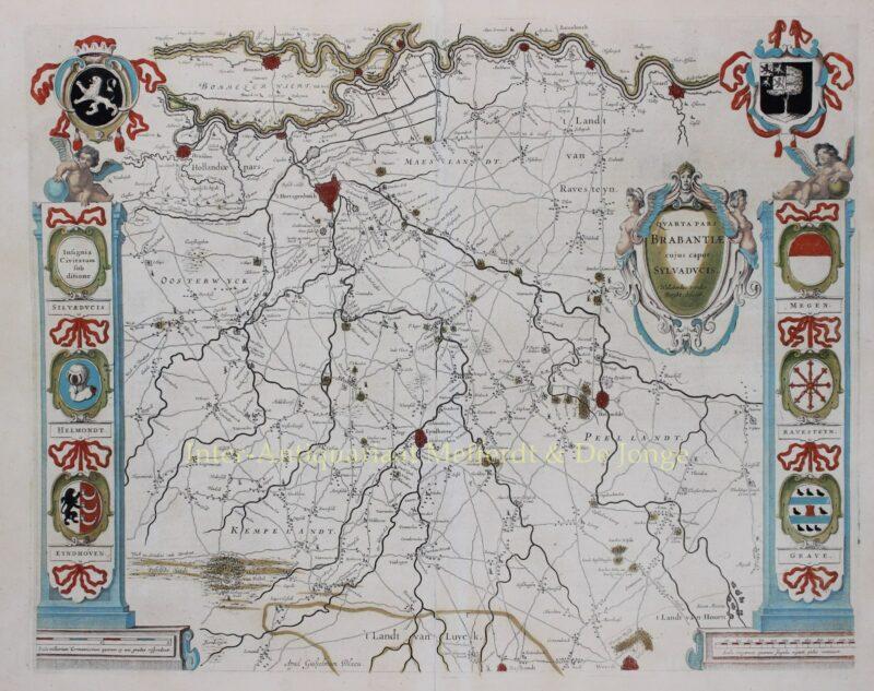 's-Hertogenbosch – Willem en Joan Blaeu, 1634-1635