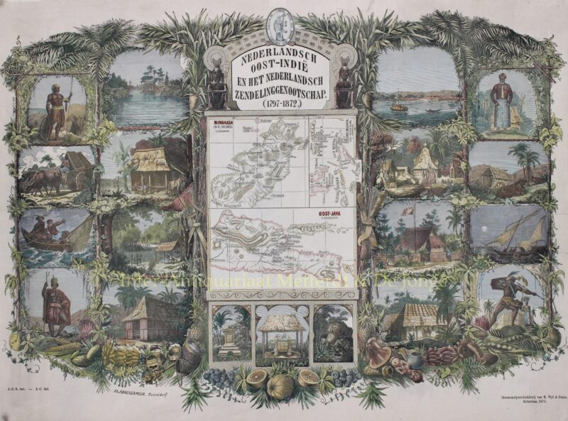 Indonesia (Celebes, East Java) – Richard Brend'amour, 1872