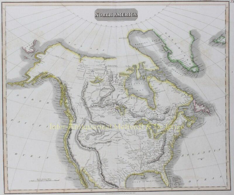 North America – John Thomson, 1814