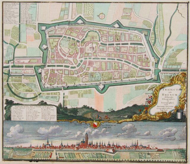 Utrecht plattegrond