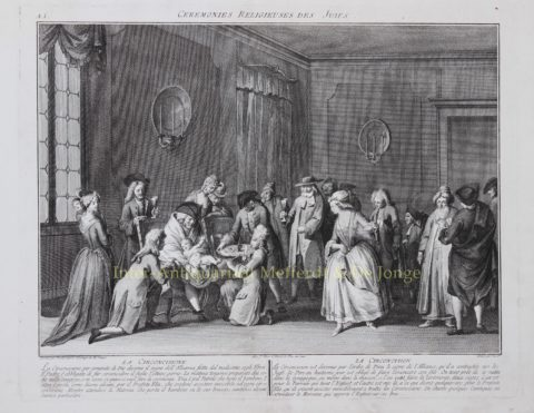 Circumcision – Antonio Baratti after Bernard Picart, second half 18th-century