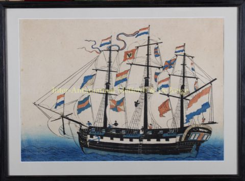 Dutch ship Japan – Bunkindō, c. 1840