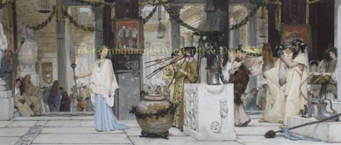 The Vintage Festival – Lawrence Alma-Tadema, 1873