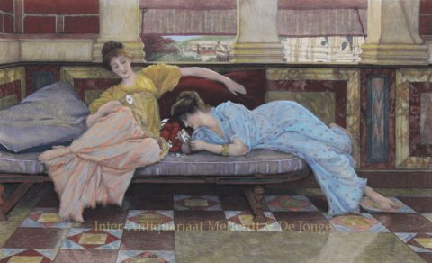 He Loves me, he loves me not – Lawrence Alma-Tadema, 1893